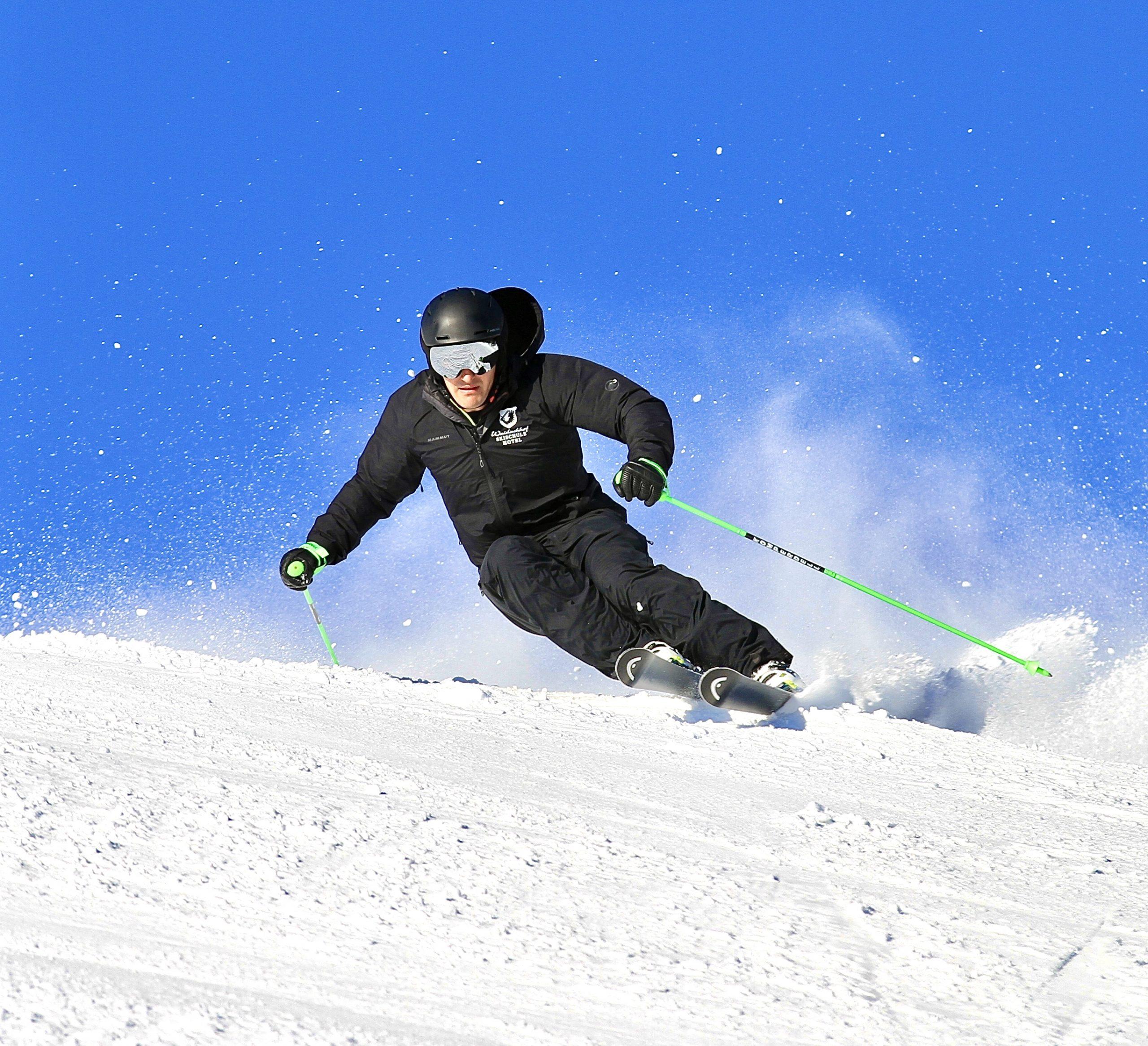 Skifahren im Kaiserwinkl